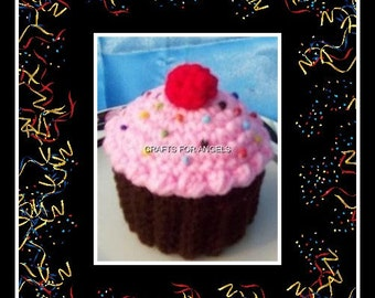 Cup Cake Gift Box Crochet Pattern