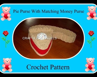 Pie Purse With Matching Money Purse Crochet Patterns