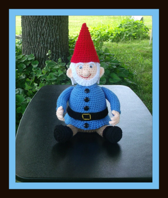 Gnome Trinket / Gift Box Crochet Pattern.