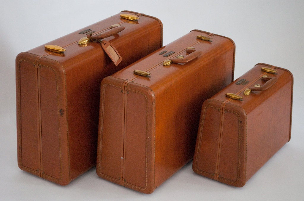 Vintage samsonite luggage by 27thave on etsy - Vintage suitcase ...