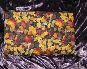Little Fall Leaves Magnetic Purse Cover