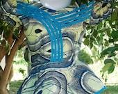 MAMI WATA African Wax print skirt set