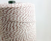 50 yds Baker's Twine - Brown and White