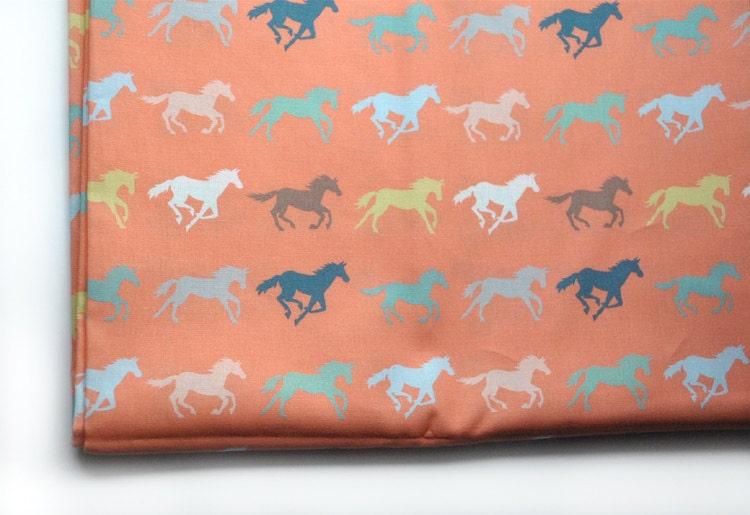 Gallop Horse Fabric Original Fabric Fat Quarter