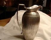 Vintage Silver Water Pitcher