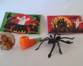 Vintage Australian Halloween Haunted House Miniature Toys