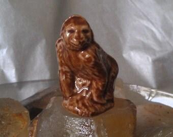 Miniature Porcelain Gorilla Wade Whimsie