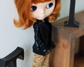 Blythe black jumper - gloss