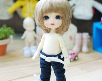 Lati yellow Pukifee Washing Cotton Pants-Navy