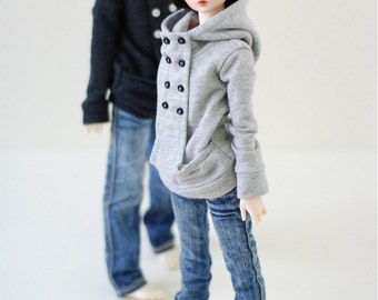 Chic Hooded-T Gray