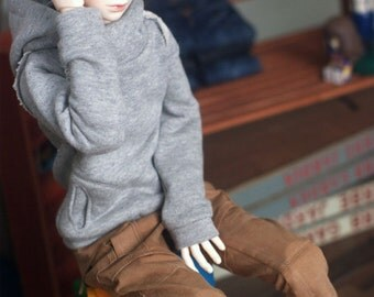 SD13 Chic hooded-T -Gray