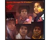 Glittered Jackson 5 Lookin Through the Windows Album