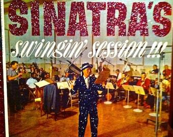 Glittered Frank Sinatra Sinatra's Swingin session