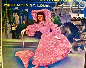 GLittered Judy Garland Meet Me in St Louis Album
