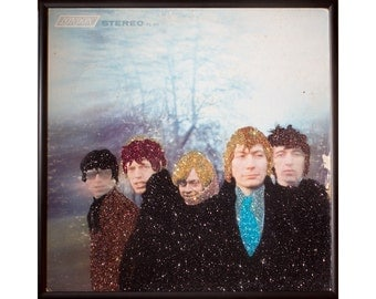 Glittered Rolling Stones Between the Buttons Album