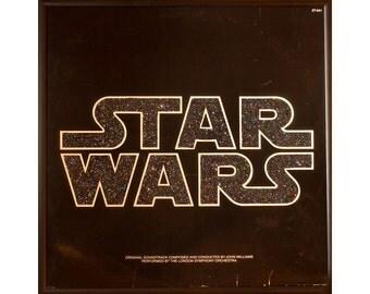 Glittered Star Wars Album