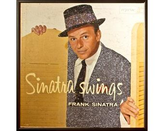 Glittered Frank Sinatra Sinatra Swings Album