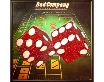 Glittered Bad Company Record Album