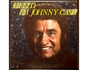 Glittered Johnny Cash Album