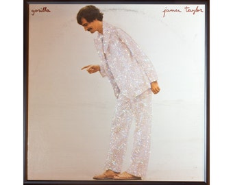 Glittered James Taylor Gorilla Album