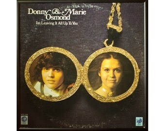 Glittered Donny and Marie Album