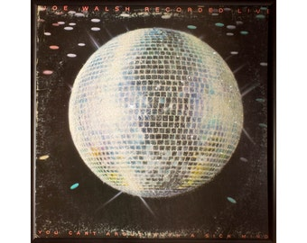Glittered Joe Walsh Live Album