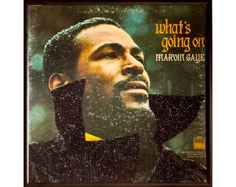 Glittered Marvin Gaye Whats Goin On Album