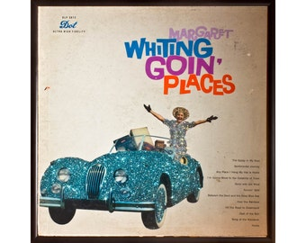 Glittered Margaret Whiting Goin Places Album