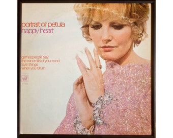 Glittered Petula Clark Happy Heart Album