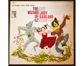 Glittered Wizard of OZ Album