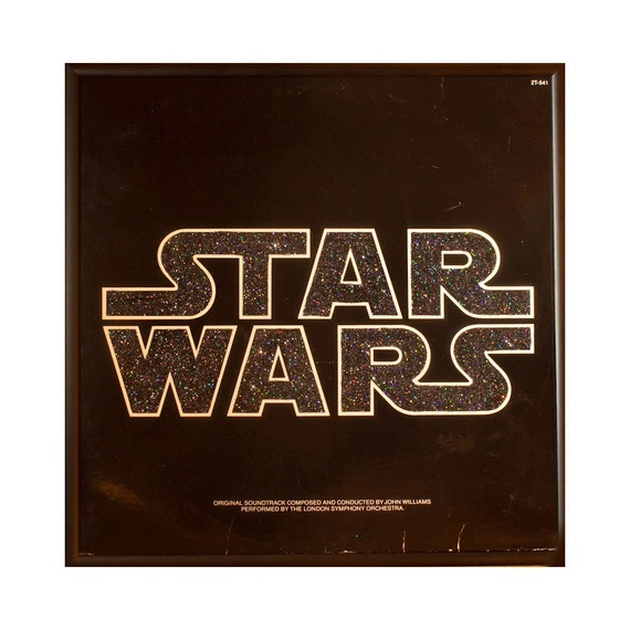 Glittered Star Wars Album