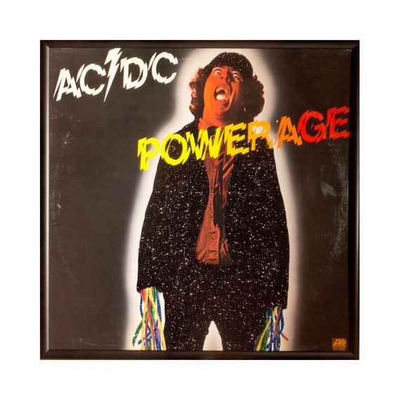 Glittered AC/DC PowerAge Album