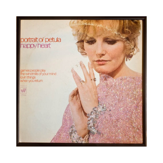 Glittered Petula Clark Happy Heart Album