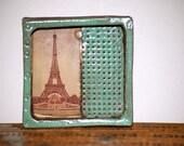 Paris - wall box hand made ceramic