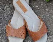 Vintage Rapallo Velcro Sandals- Size 9
