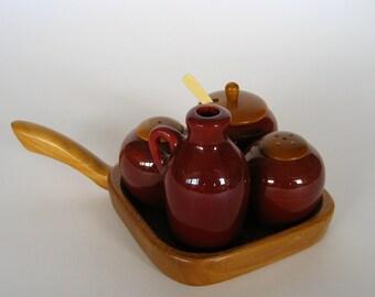 Danish condiment set