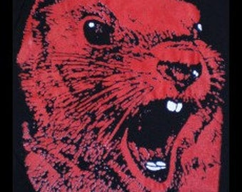 Angry Red Squirrel T-shirt
