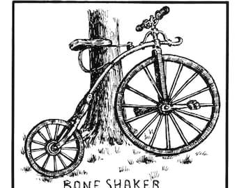 bone shaker sticker