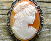 Vintage Cameo- Reserved
