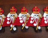 reserved for quillow set of 3 Trinity Ornament St. Nicholas