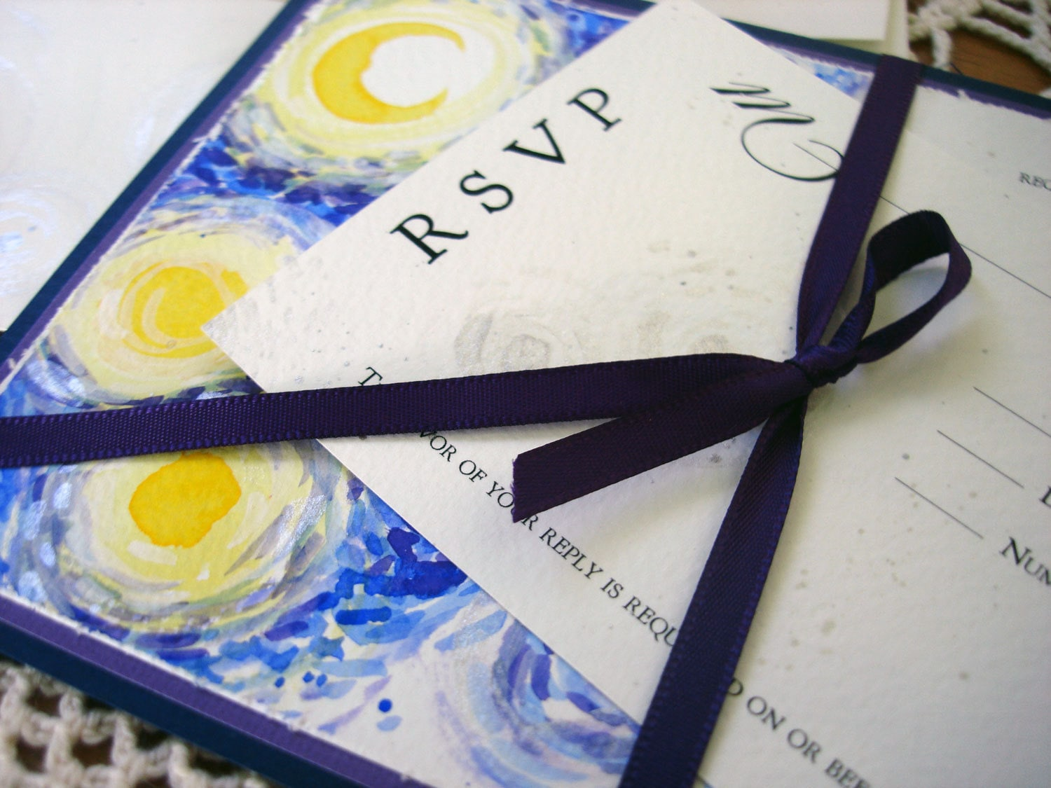 Starry Night Wedding Invitations is one of our best ideas you might choose for invitation design