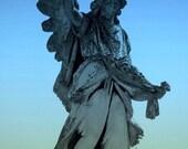 BOGO SALE 5x7 Blue Angel Fine Art Metallic Photographic Print