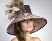 Couture Derby Hat--Lampshade Hat