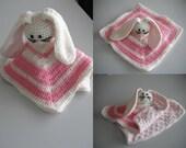 "Baby Crochet Snuggle Buddy ""Pinkie"""