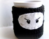Ninja Coffee Mug Tea Cup Cozy handmade cover