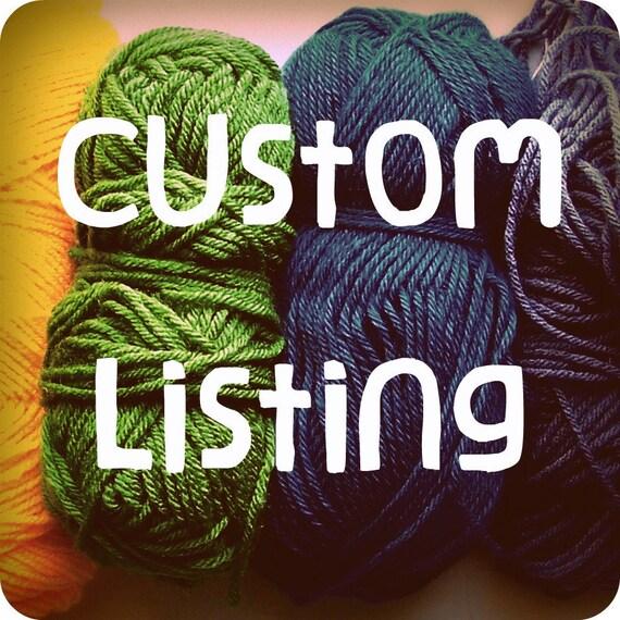 Custom Listing for Nikki