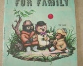 """Book-""""Little Fur Family"""" by Margaret Wise Brown Cp-1946 (Scholastic Copy) Paperback"""
