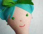 Custom Mermaid Doll -- RESERVED for annaliesepaige