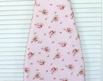 Ironing Board Cover -Shabby Chic Rose Toss