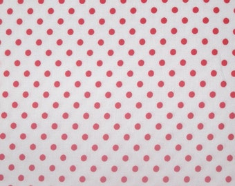 Flat fold Remnant of Tanya Whelan Delilah Red dots on White